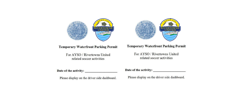 Click the pic to access the Waterfront Parking Permit