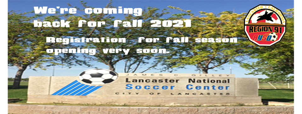 We're Back for Fall 2021!