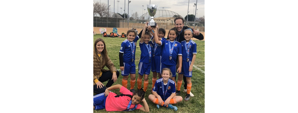 Girls U10 Extra - Pony Express Champs!