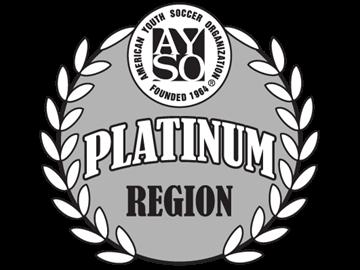 AYSO Platinum Region logo