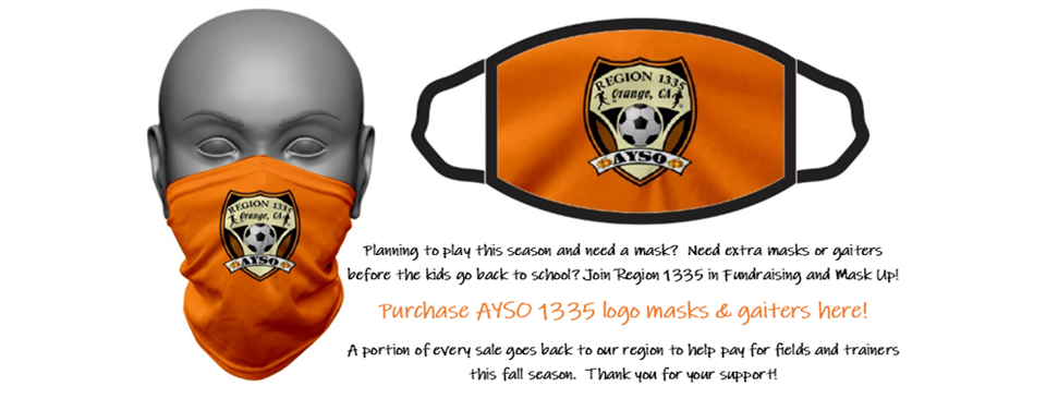 Help us fundraise with the purchase of a mask or gaiter!