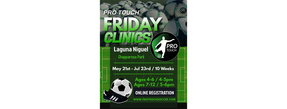 Pro Touch Friday Night Clinics