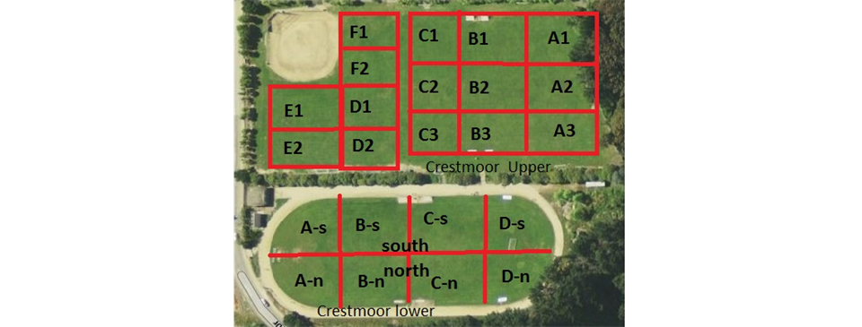 Crestmoor Field Map