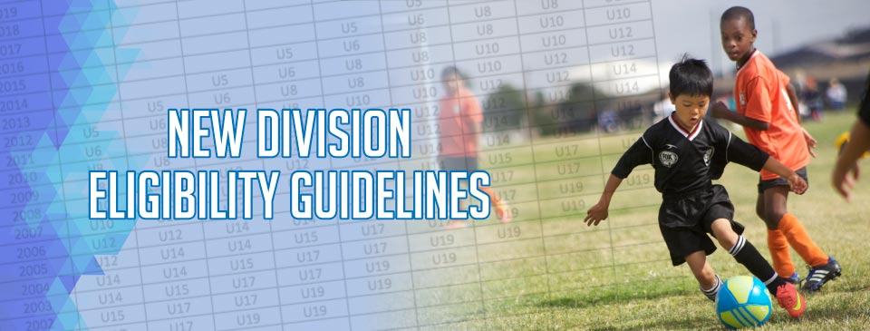 Division Eligibility Guidelines