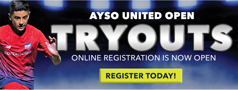 TRYOUT REGISTRATION NOW OPEN!!!