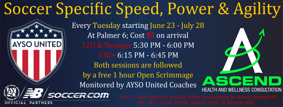 Tuesday Night Speed & Agility