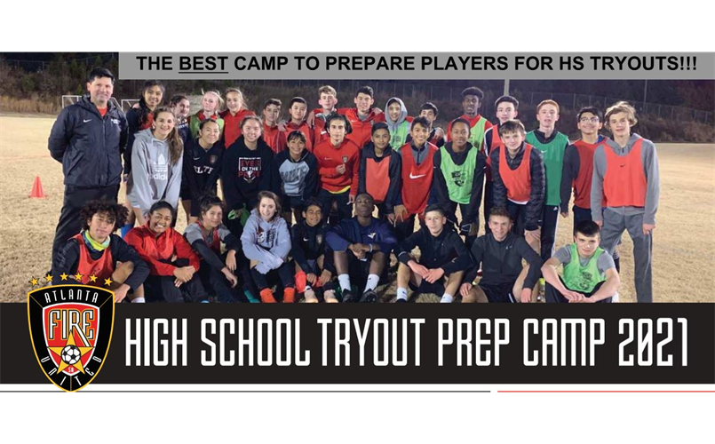 High School Tryout Prep Camp 2021