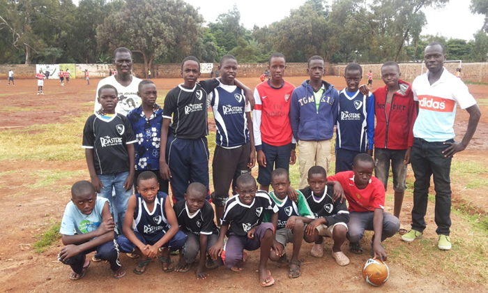 BSC Jersey Giveback to kids in Zambia