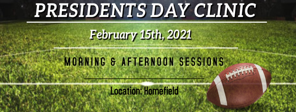 Sign up for our Presidents Day Clinic Today!