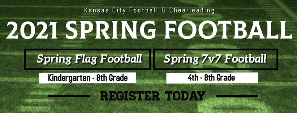 Sign Up for Spring Football Today!