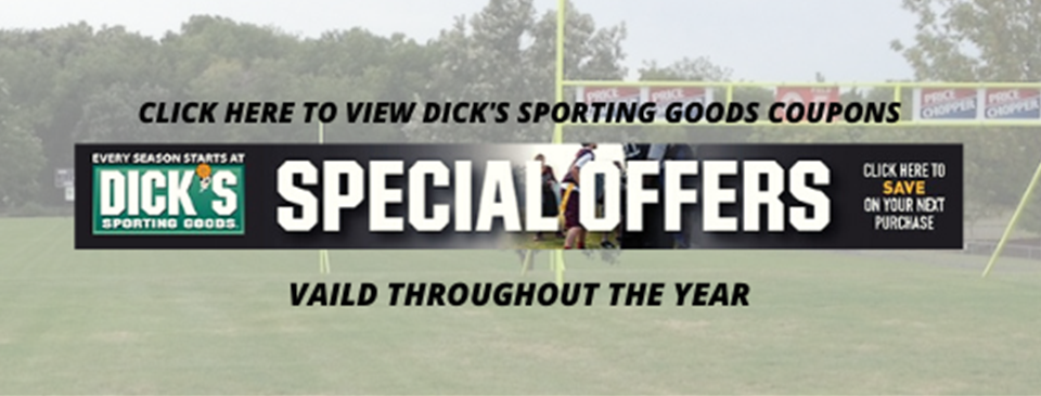 Dick's Sporting Goods Coupons - Available all year!