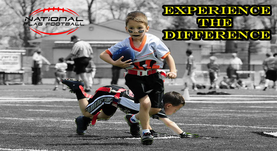 We Are The Nation's Largest Youth Flag Football League