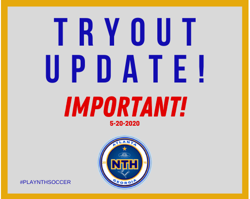 2020 TRYOUT UPDATE