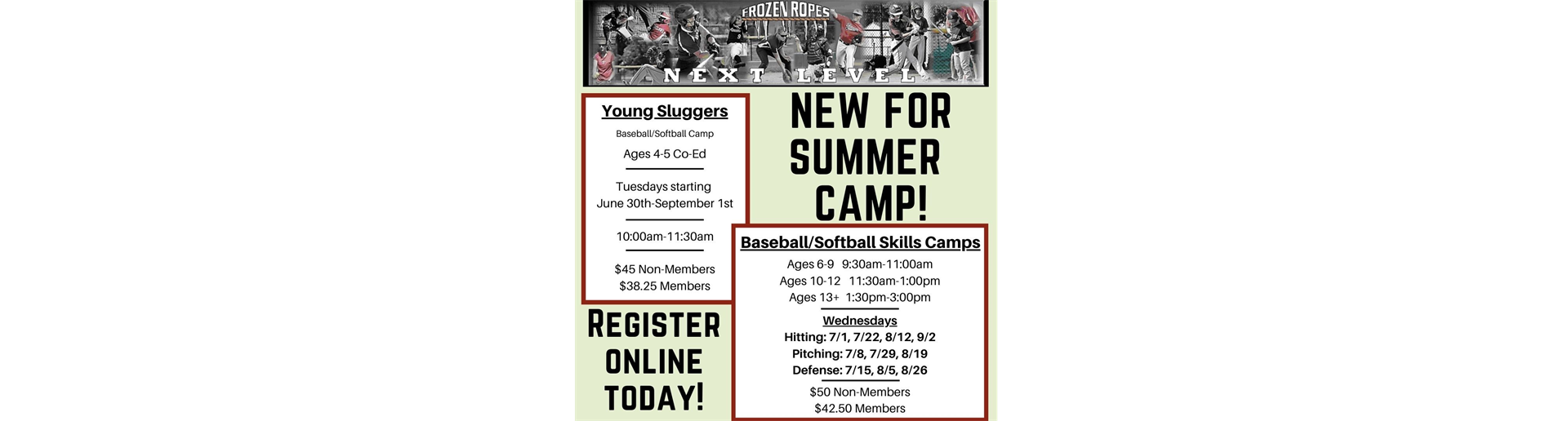 Frozen Ropes Summer Camp