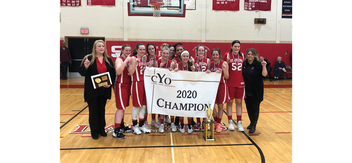 Varsity Girls #1 win our first CYO Championship!