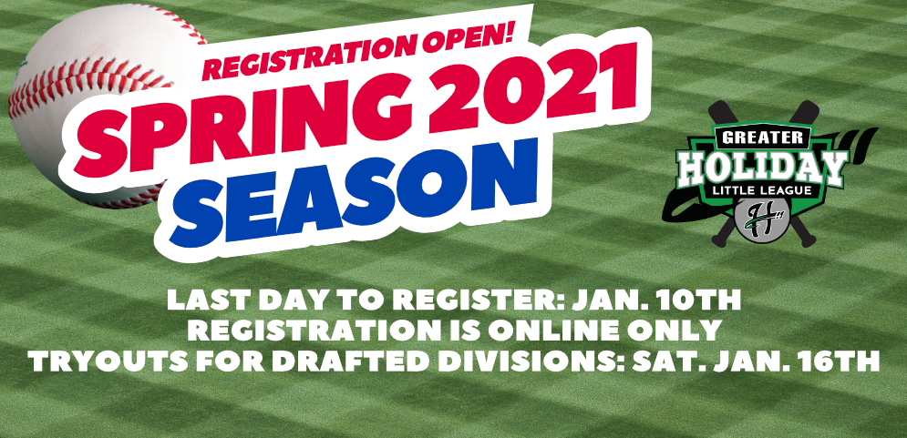 Spring 2021 Registration Open