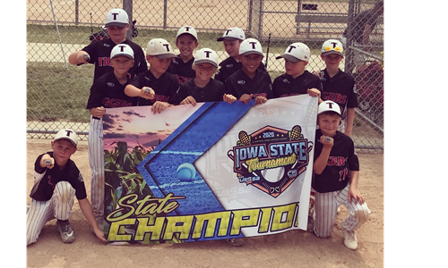 Tigers 8u Black State Champs CR Division