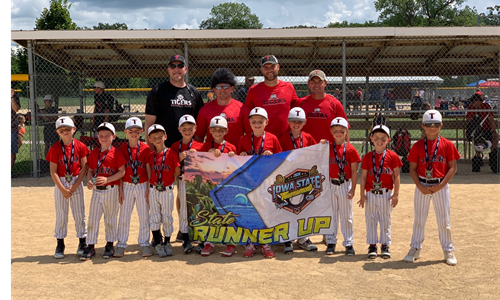 Tigers 7u CR Silver Division State Runner-UP