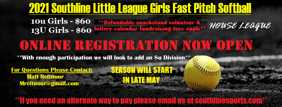 2021 Girls Fastpitch Softball