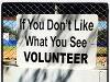 Little League is all about Volunteers!
