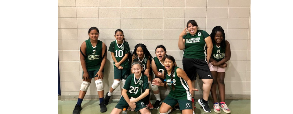 2019 6th Grade Girls Volleyball