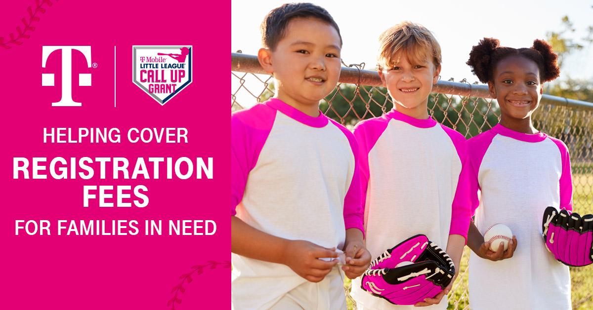 T-Mobile Little League Call Up Grant Program
