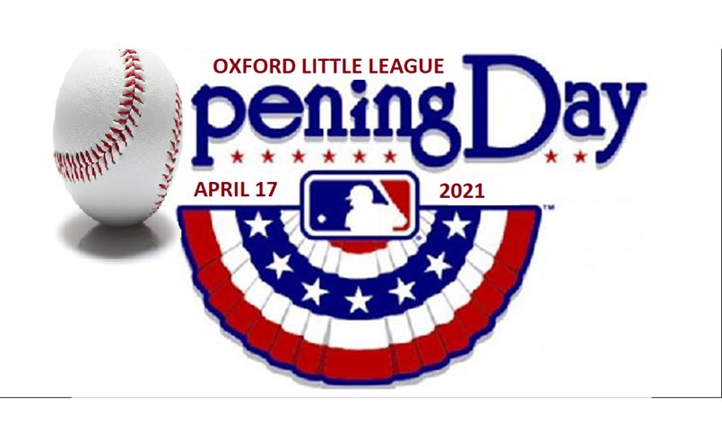 OPENING DAY 2021!