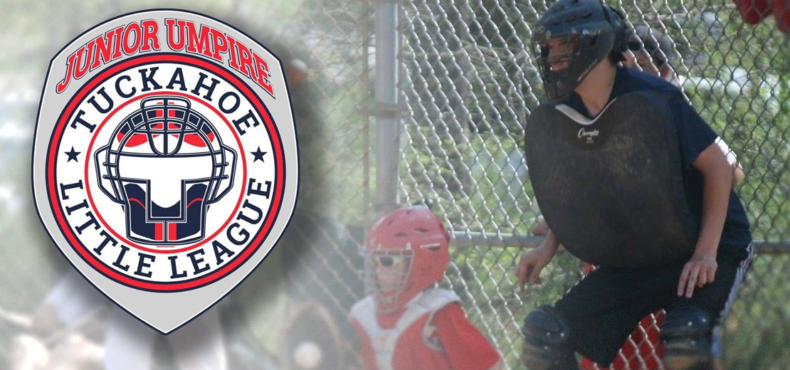 Sign up to be a Junior Umpire this spring (ages 13 and up)