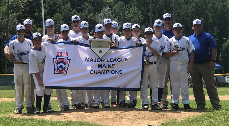 Proud Home of the 2019 State Little League Champs!