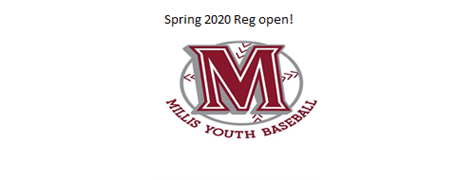 Spring 2020 Registration now open!