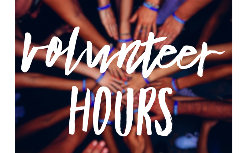 Need Volunteer Hours Email Us!
