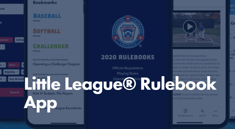 Little League Rulebook App