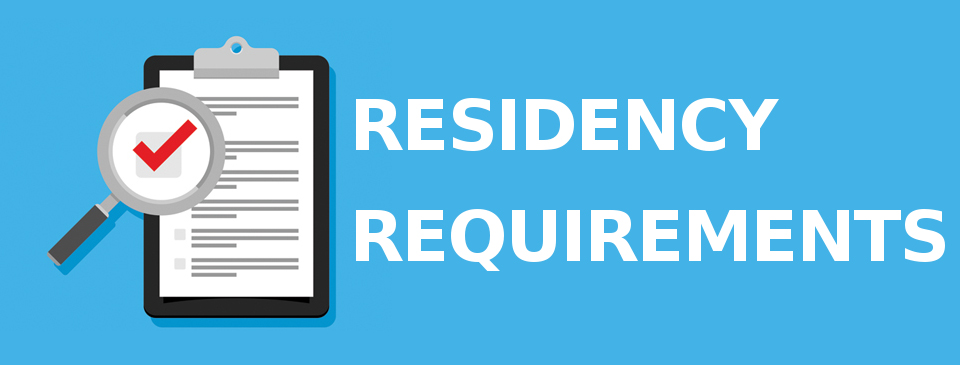 Residency Requirements