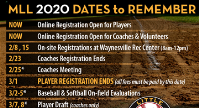 2020 Dates to Remember