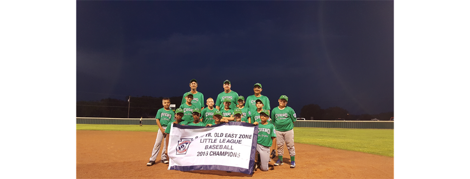 9-10 East Zone Champions