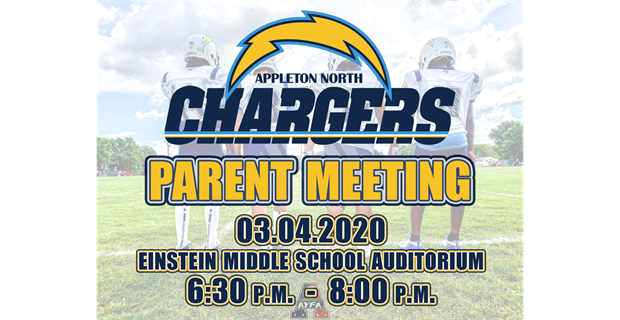 Chargers New Parent Meeting Set