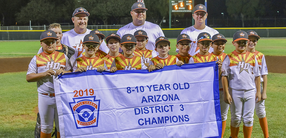 2019 8-9-10 Year Old District 3 Champions - High Desert