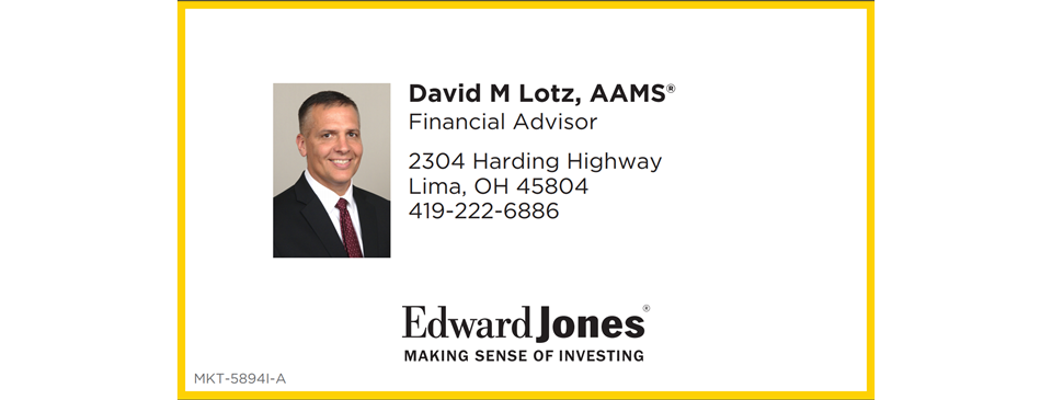 Edward Jones - David Lotz; Financial Adviser Making Sense of Investing