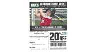 Northern Lights Day at Dick's Sporting Goods - March 29th, 2020