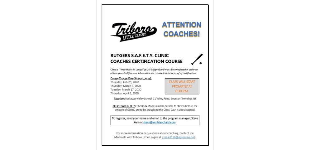 Rutgers Safety Clinic