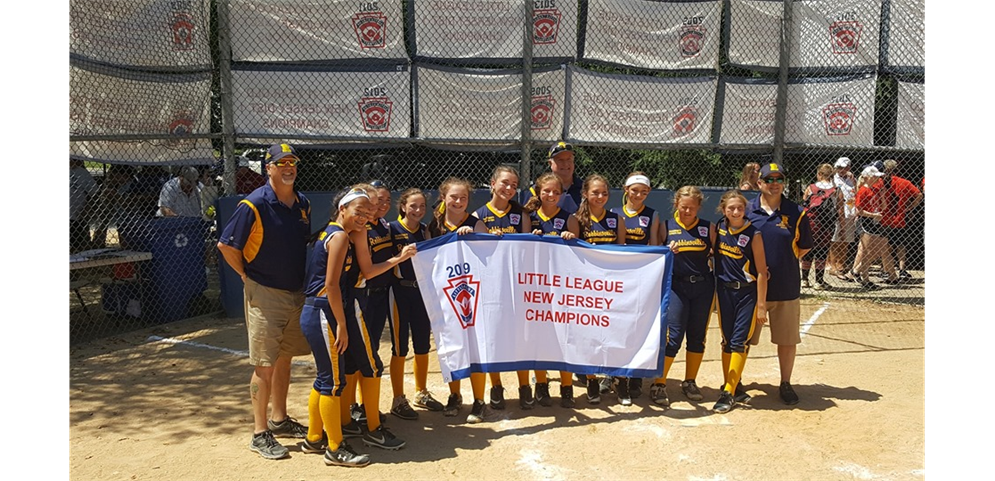 Robbinsville Little League - 2019 Little League Softball NJ State Champs