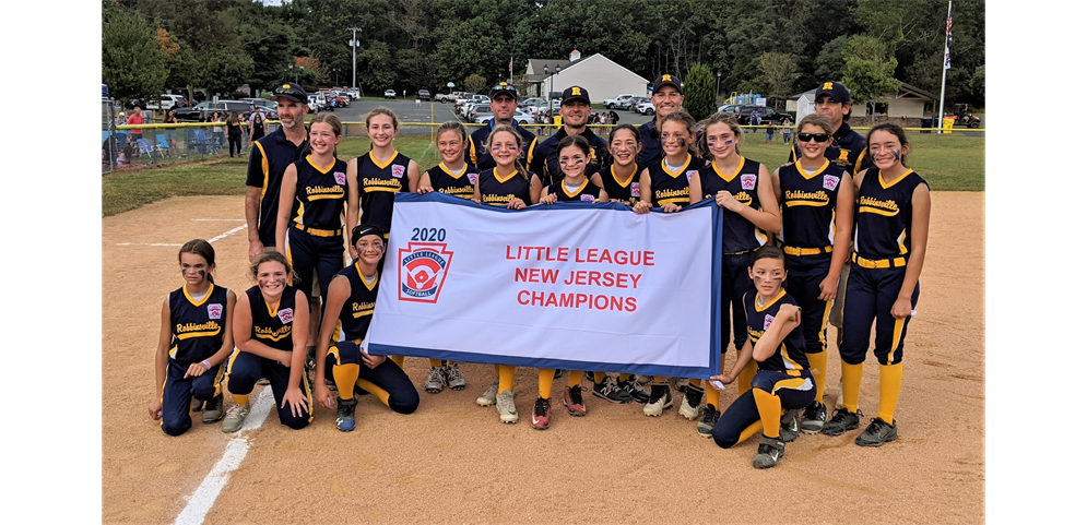 Robbinsville Little League - 2020 Softball 12s NJ STATE CHAMPIONS!