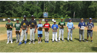 2019 Baseball Jim Davis Sportsmanship Awards