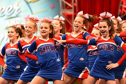 Pop Warner Youth Cheerleading