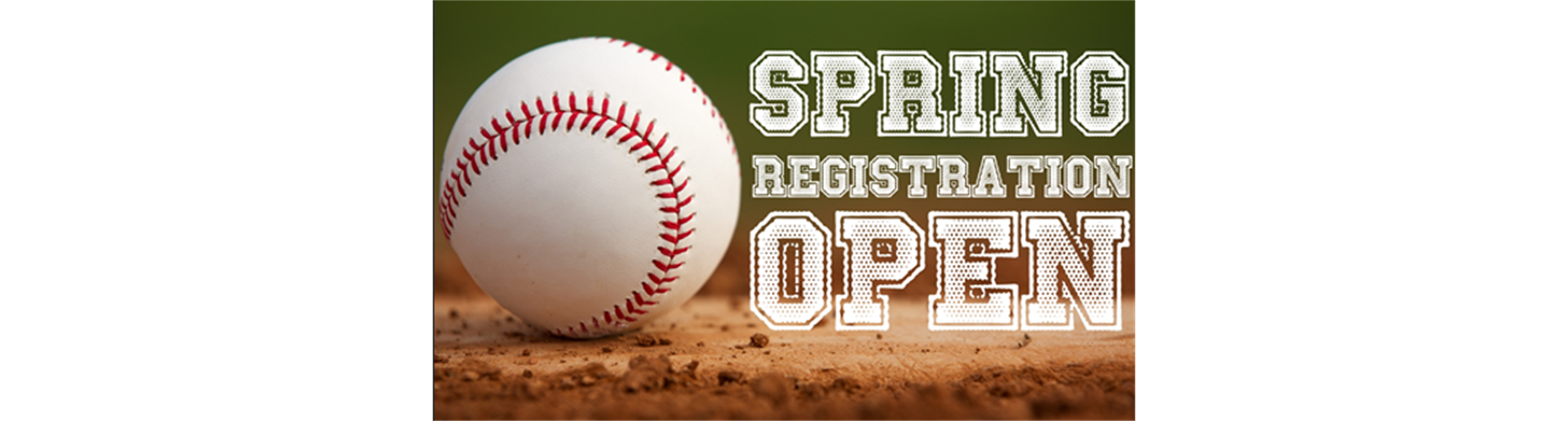 SPRING 2021 REGISTRATION IS NOW OPEN!