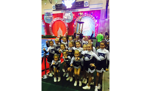 HCPW Cheer...sideline cheer, spirit spectacular and more!