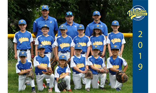9/10 Little League Vermont District 1 Runners-Up
