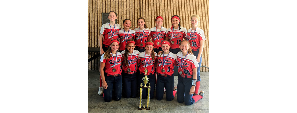 14U Red 1st Place @ Rebels Rumble