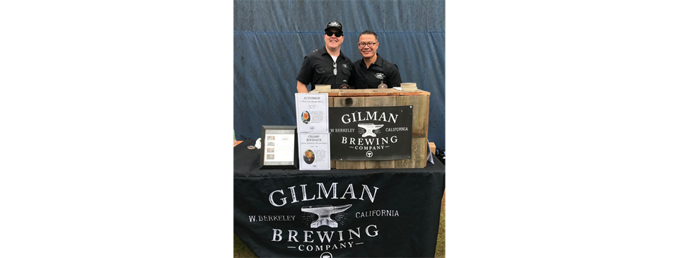 We would like thank Gilman Brewing Company for their support!!