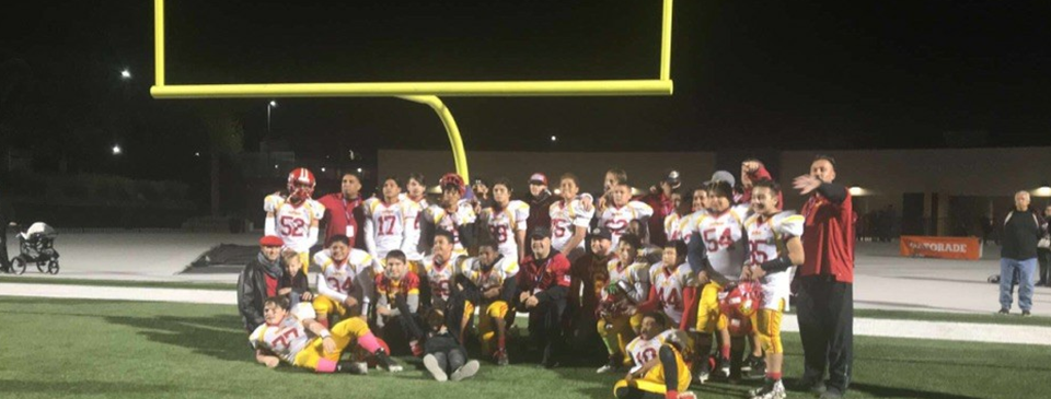 2018 Mt. Baldy Football Champions - Unlimited, Jr Varsity and Jr Pee Wee